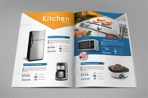 product brochure template free products catalog brochure template vol2 24 pages by