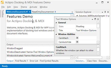 layout update wpf docking mdi for wpf huge metro theme updates