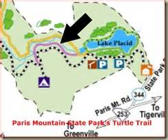 Paris Mountain State Park Map by Mobile Studio Travels Of The Carolina Considered Project