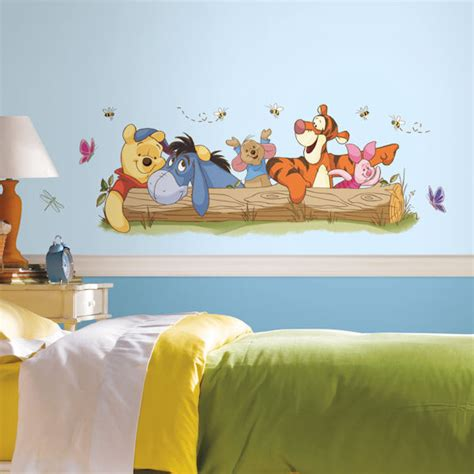 large winnie the pooh wall stickers winnie the pooh outdoor wall decals