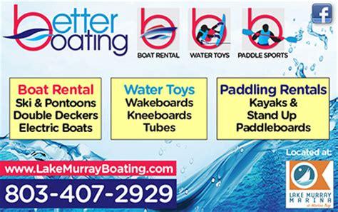 better boating lake murray sc lake murray fun lake murray boat rentals columbia sc area