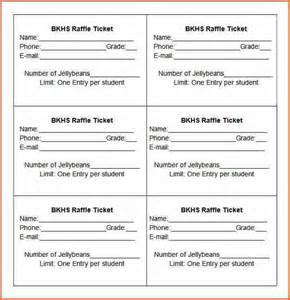 Raffle Tickets Template by 10 Raffle Ticket Templates Budget Template Letter