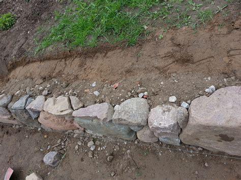 trockenmauer selber bauen aus feldsteinen diy seite 2
