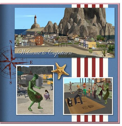 Luv2scrapbook Scrapbook Layout Contest by Mod The Sims Sims 2 Scrapbooking Contest