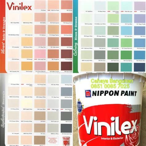 macam macam warna cat tembok nippon paint ide perpaduan