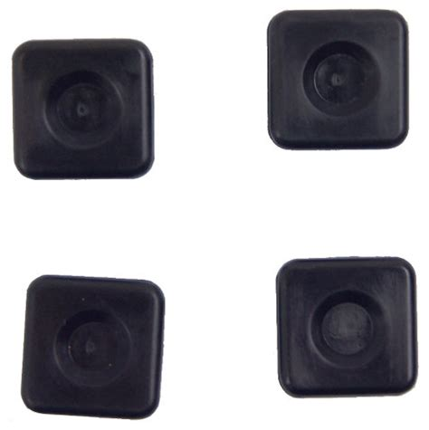 passport rubber sts gm vehicles rear license plate mount nut set of 4 new oem