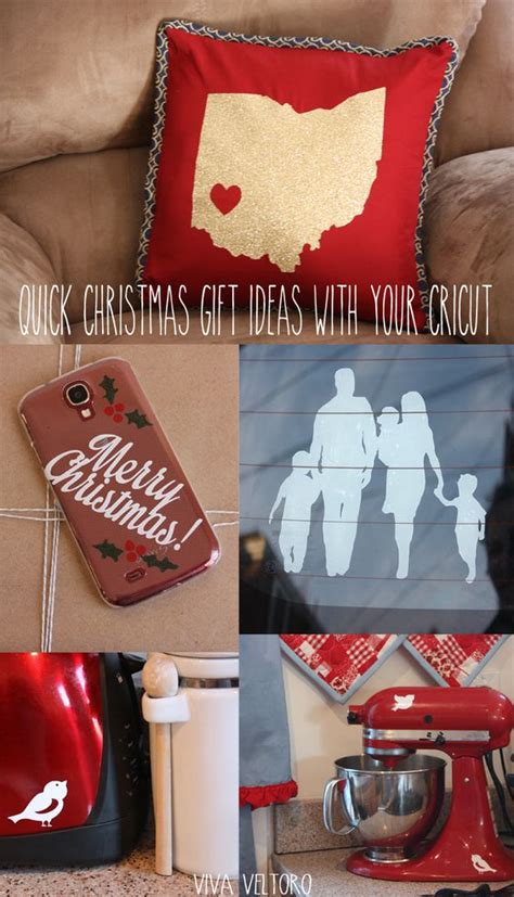 cricut christmas gift ideas gift ideas with your cricut gifts and ideas