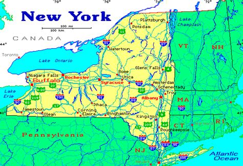 state map of new york map of new york state cities picture image by tag