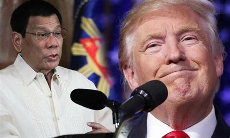 trump duterte trump revealed location of 2 nuclear submarines to