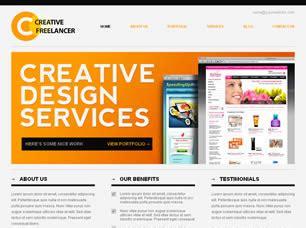Creative Freelancer Free Website Template Free Css Templates Free Css Website Template Like Freelancer