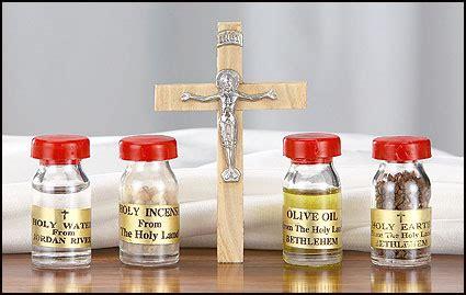 holy oil of st. anne, st. joseph, st. rita and bethlehem