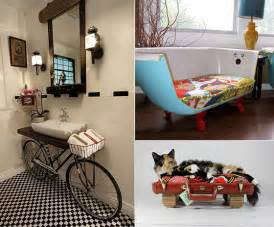 Creative Home Decoration by 16 Creative Upcycling Furniture And Home Decoration Ideas