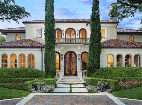mediterranean mansion 6 4 million mediterranean home in highland park tx