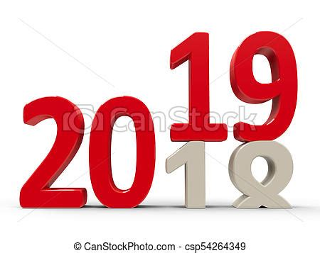 2018 2019 #3. 2018 2019 change represents the new year