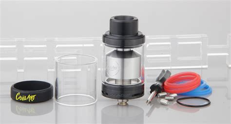 Authentic Rta Mage Gta Coil 23 42 authentic coilart mage gta rta rebuildable tank atomizer 3 5ml 304 stainless steel