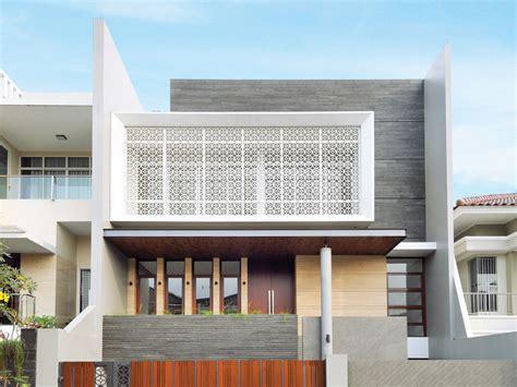 mengenal aneka material secondary skin  fasad bangunan