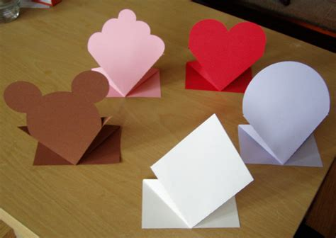 3d Card Templates bounce up card templates