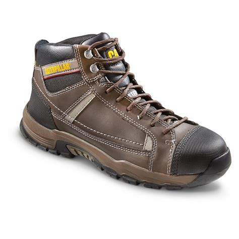 steel toe work boots cat s regulator steel toe work boots 656527 work