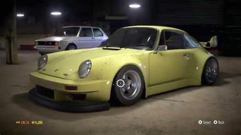 drift porsche 911 need for speed 2015 rwb porsche 911 drift build