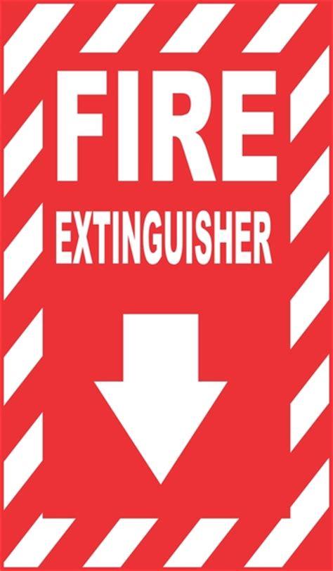 noodsituatie brandblusser teken vector vector gratis