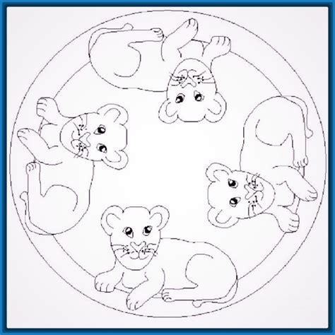 imagenes de mandalas con animales dibujos para colorear mandalas nivel avanzado archivos