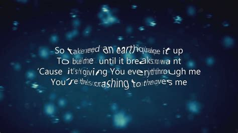 earthquake song newsboys earthquake lyrics youtube