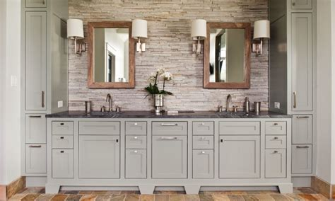 Houzz Kitchen Cabinet Hardware Cool And Sophisticated Designs For Gray Bathrooms
