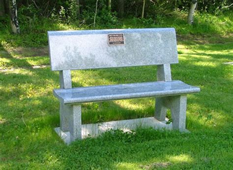 monument benches dedication plaques memorial benches kootenay monument