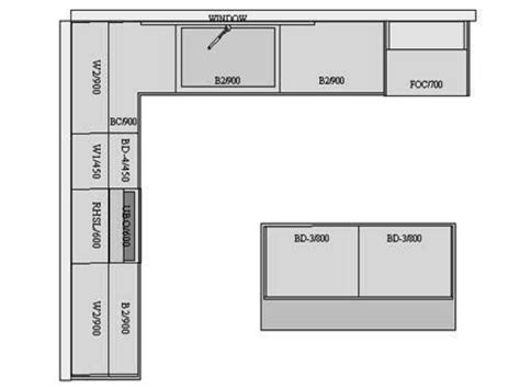 tiny kitchen floor plans small kitchen floor plan