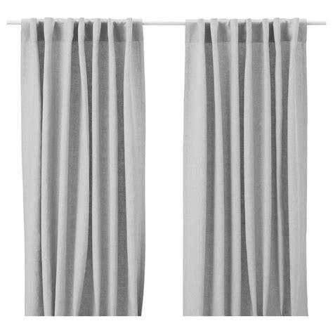 ikea drapes linen 17 best images about pretty window treatment on pinterest