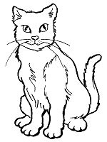 cats coloring pages  printable activities