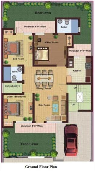 single floor map  simplex house design