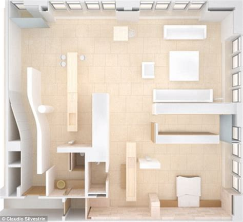 Nyc Apartment Floor Plans by Fit For A Gold Digger Take A Look Inside Kanye West S