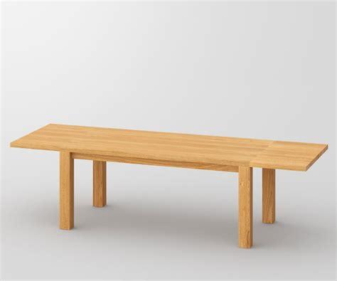 esstisch mit zwei bänken esstisch aus massivholz zum ausziehen tisch cubus