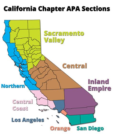California Section local sections