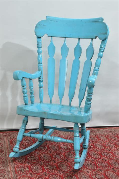 sedie a dondolo country sedia a dondolo con braccioli in stile country mobili