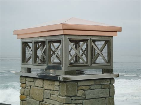 Fireplace Shrouds by Decorative Chimney Shrouds Western Sheet Metals Inc