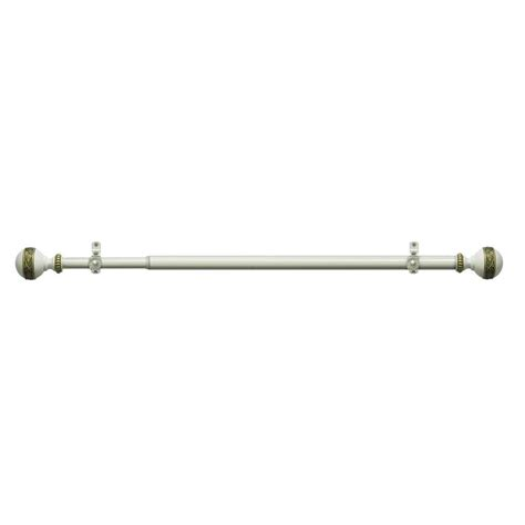 royale telescoping curtain rod kit rdrcysv286