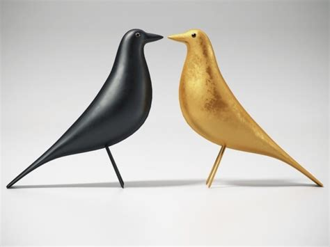 Eames House Bird 3d model   Vitra
