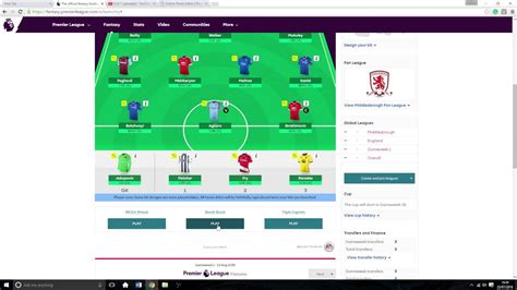 fantasy football bench barclays fantasy football 2016 2017 using triple captain bench boost all out