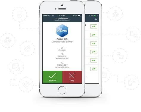mobile iphone duo mobile secure two factor authentication app duo security