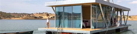 floatwing modular floating house by portugal s friday solar powered floating home in portugal generates a year s