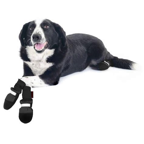 boots petco muttluks black fleece lined boots petco