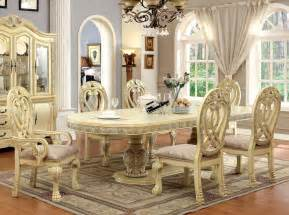 white dining room sets formal 112 quot versailles antique white formal dining table set