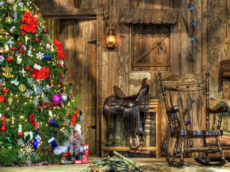 cowboy christmas photograph by lisa moore