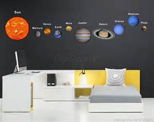 kids room wall decals on etsy a global handmade and auto planets wall sticker tenstickers