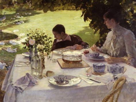 colazione in giardino de nittis collezione giuseppe de nittis barletta arte it