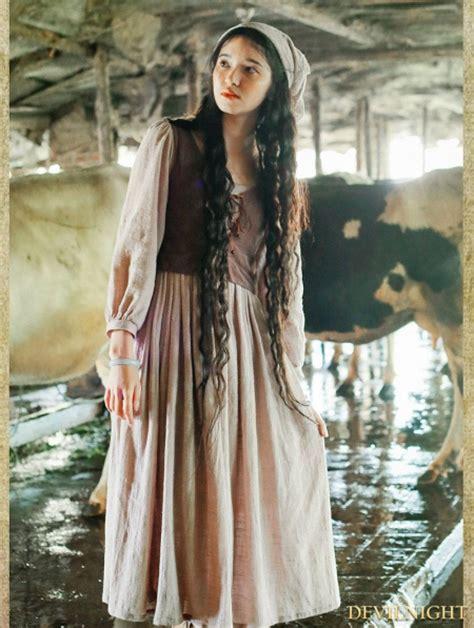 vintage medieval  piece set dress devilnightcouk