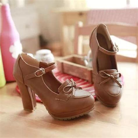 boat shoes japan japanese princess lovely bowknot heels 183 fashion kawaii