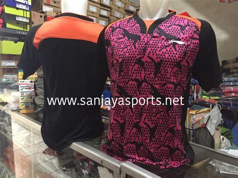 Baju Lining Impor 279 Orange jual perlengkapan olahraga bulutangkis badminton